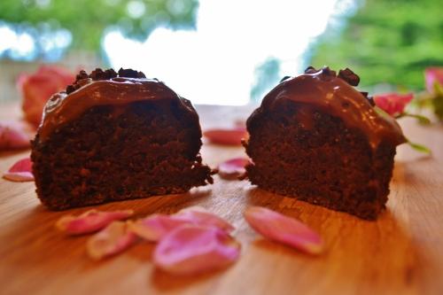beet muffin halfsies